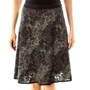 Cabi Women's black lace Skirt style# 539